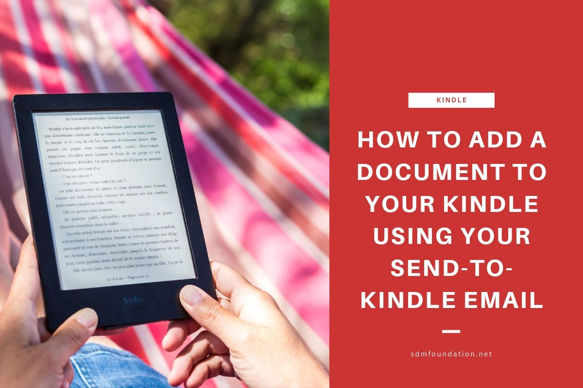 How to use your send-to-kindle email - Featured Image