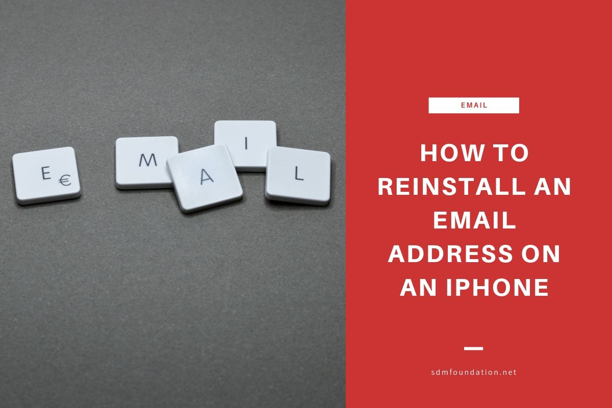How to Reinstall an Email Address on an iPhone - Featured Image