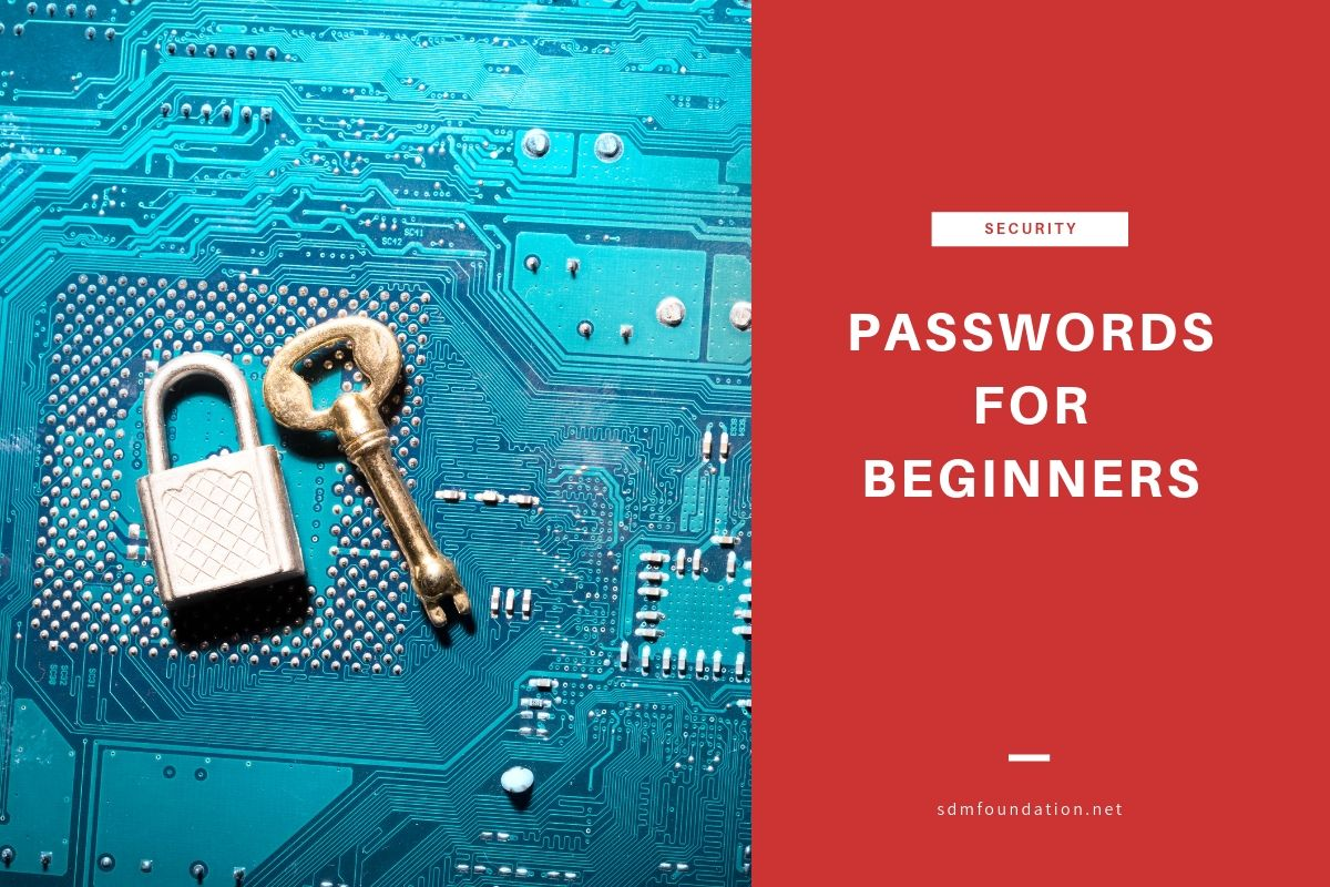Passwords for Beginners - Featured Image