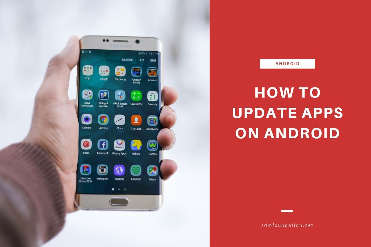How to update apps on android - Featured Image