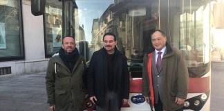 Novara, nuovi bus della Sun completamenti elettrici attivi sulla linea 5 da venerdì 15 dicembre