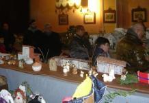 Mostra dei presepi inaugurata alla chiesa di San Rocco a Borgolavezzaro