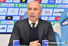 Sconfitta contro l'Ascoli per 2 a 1 per il Novara calcio. Corini vicino all'esonero