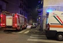 Fuga di gas a Novara, una famiglia al Pronto Soccorso