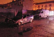 Doppio incendio a Novara in corso Milano zona Sant'Agabio