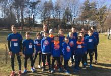 Team Atletico Mercurio al Cross di Oleggio