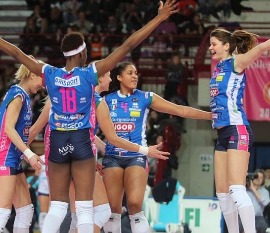 Vittoria per 3 a 0 in gara 2 contro Busto Arsizio per l'Igor Volley Novara