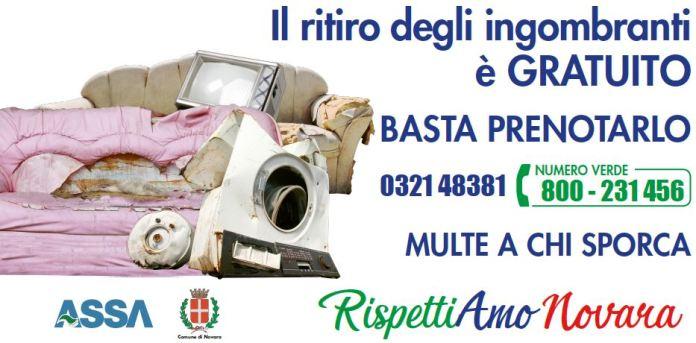 Assa Novara, al via campagna di sensibilizzazione ambientale con affissioni di manifesti