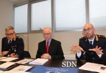 conferenza stampa della Polizia di Verbania