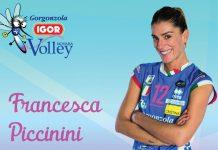 Francesca Piccinini confermata alla Igor Volley