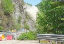 Esplosione mina Val Vigezzo
