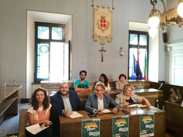 Novara Summer Music dal 15 al 17 giugno 2018