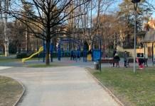Nuovi giochi al Parco dei bambini