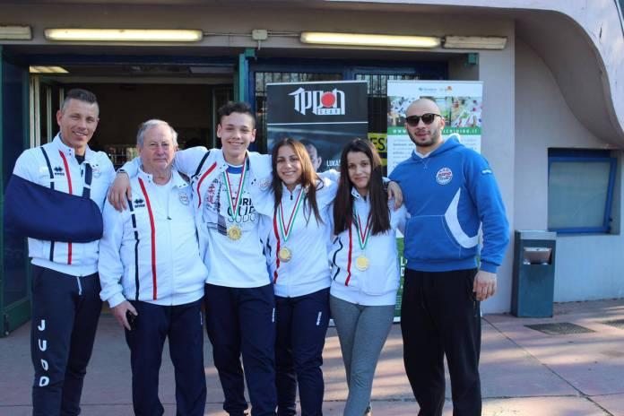 Atleti del judo borgolavezzaro