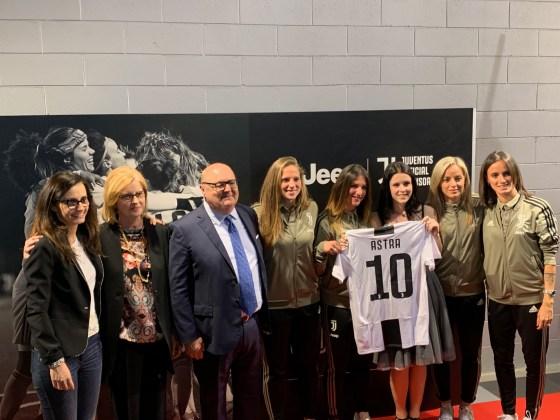 La Juventus Femminile all'Astra di Novara