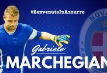 Marchegiani al Novara Calcio