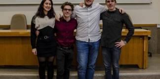 i rappresentanti degli studenti dell'Istituto Cobianchi di Intra