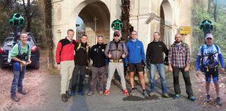 Google trekker team di Maggiora