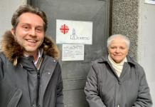 Alessandro Pettinaroli e Paola Agarla.