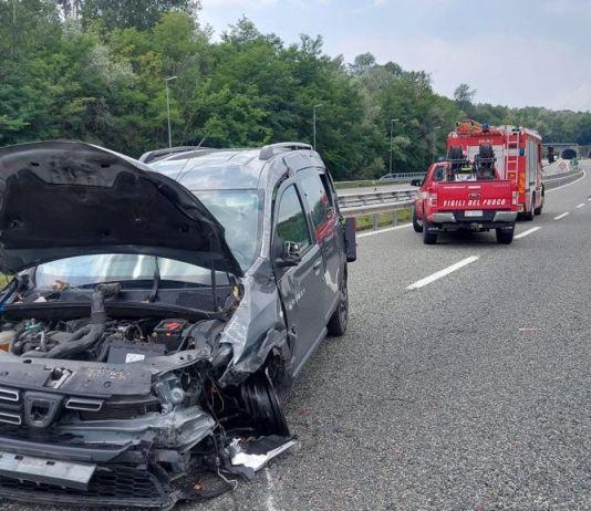 Incidente autostrada A26 direzione Arona