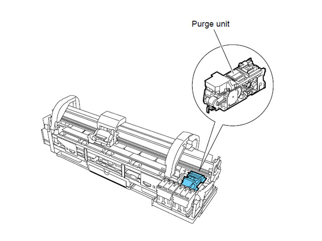 Canon iPF700_710_720 Purge Unit (QM3-1413)