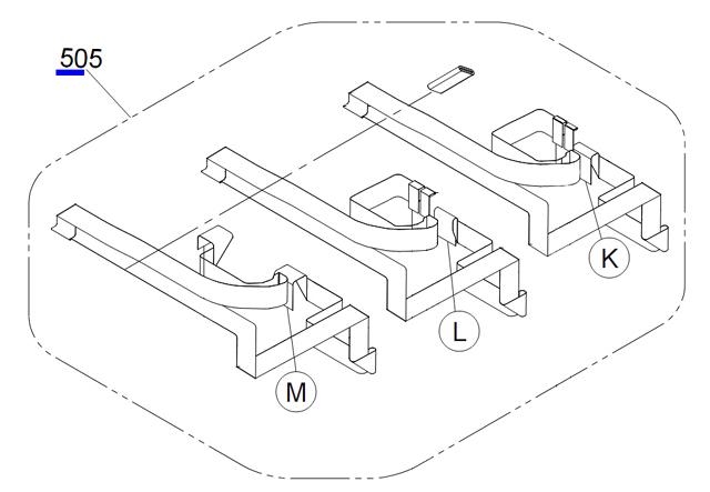 EPSON Pro 4900/4910/SureColor SC-P5000 Head Cable Harness