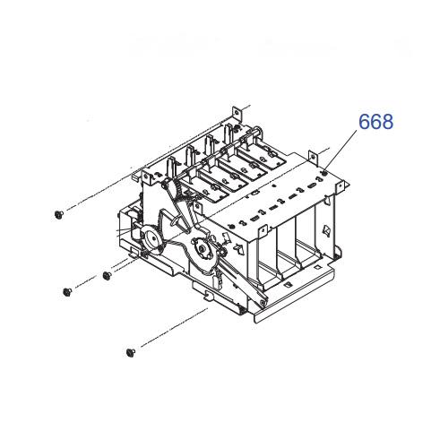 EPSON STYLUS PRO 7800 HOLDER ASSY.,IC,LEFT,8C,B-1488402