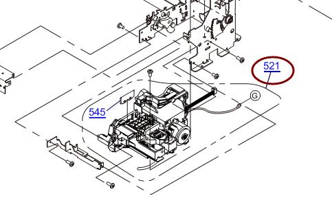 EPSON Office T1100/L1300 T1110/B1100/ME1100 Pump Cap Assy