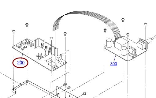 EPSON L1300 BOARD ASSY.,MAIN- 2172245