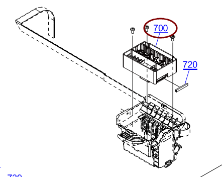 EPSON L1300 Print Head- F185020