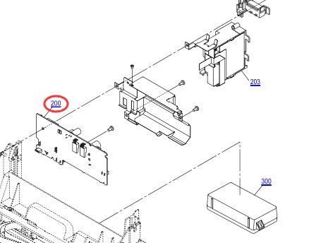 EPSON L555 BOARD ASSY.,MAIN-2172093