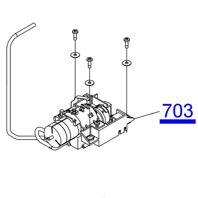 EPSON STYLUS PHOTO R3000/SureColor SC-P600 Decomp Motor
