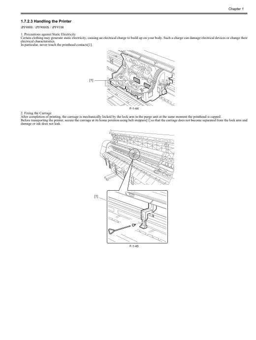 Canon ImagePROGRAF iPF9000 9000S Service Manual