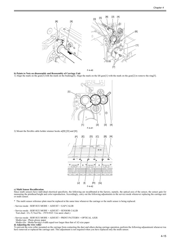 Canon iPF500 Service Manual