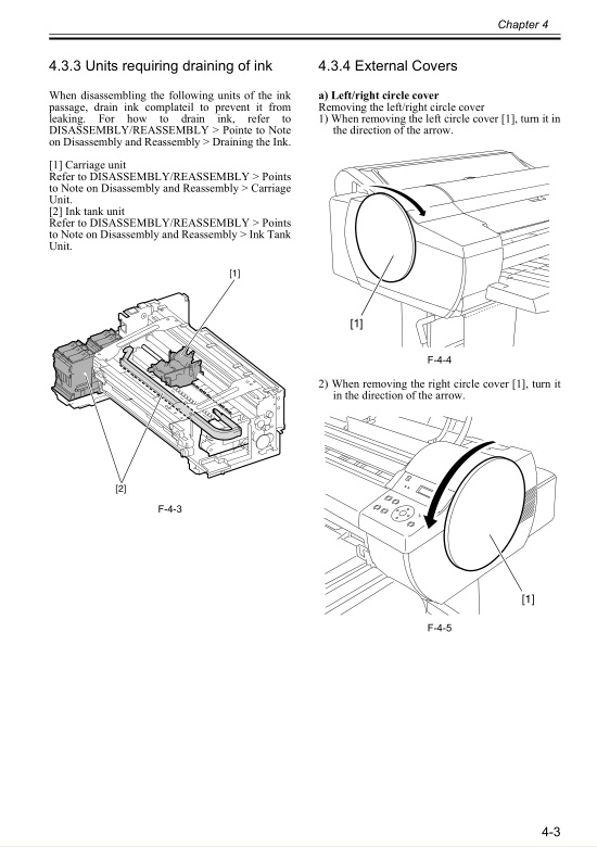 Canon iPF610 Service Manual