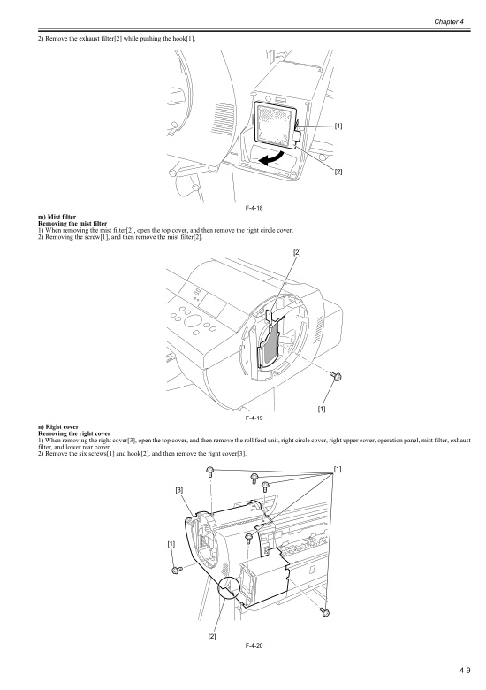 Canon iPF 600 605 Service Manual
