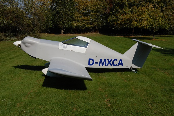 D-MXCA prêt à voler