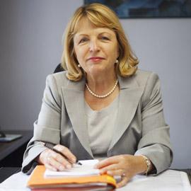 Marie-Claude Lefeuvre, présidente et co-fondatrice de SDR Accidents en 1986.