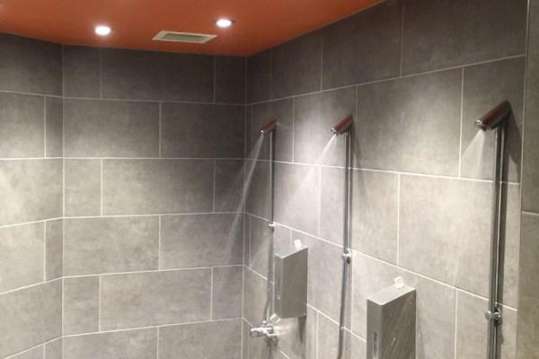 Commercial Wet Room (Bikram Yoga) – Canary Wharf