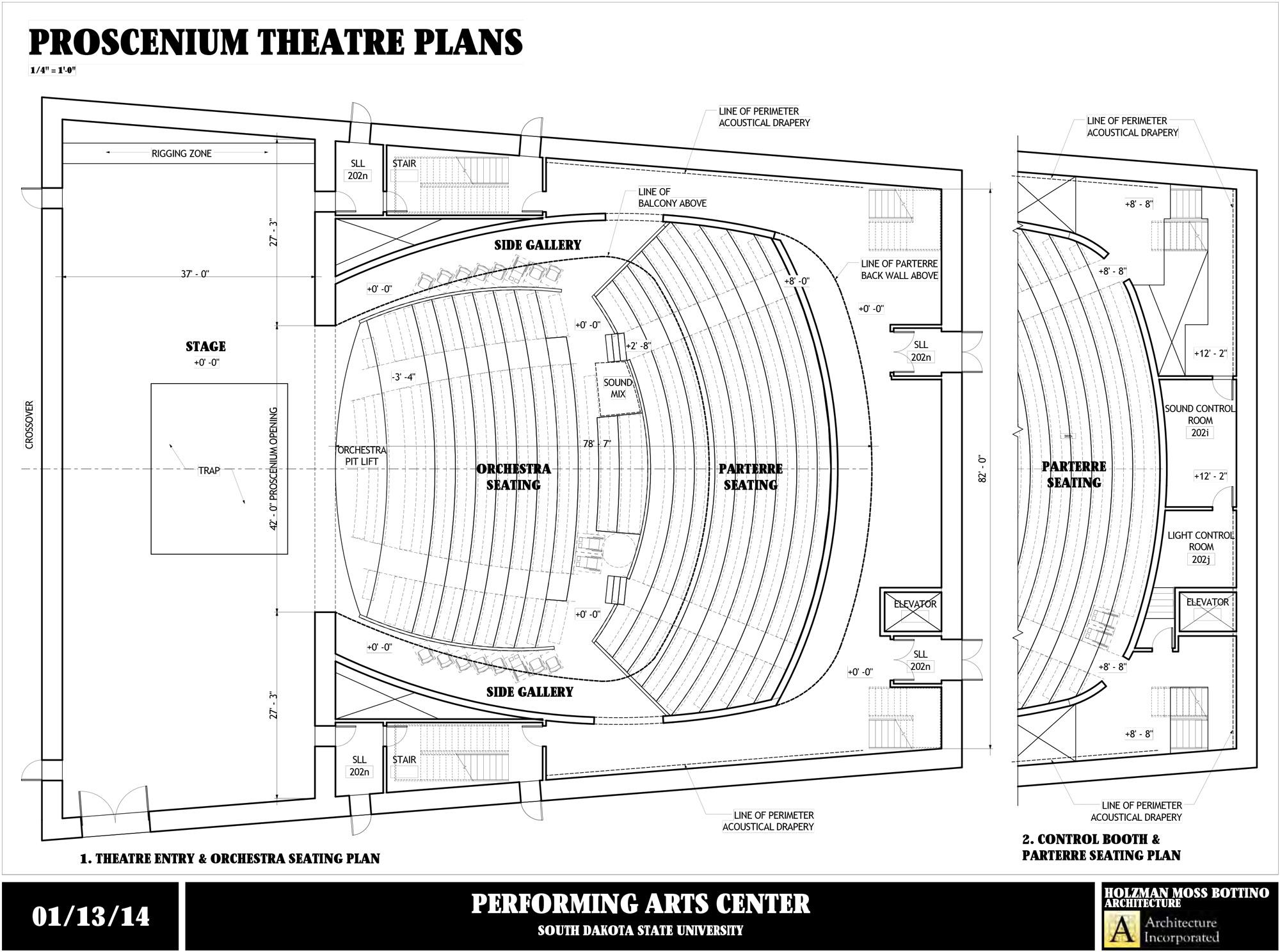 stage directions diagram s plan heating system wiring am2 renderings south dakota state university