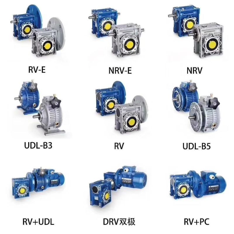 Aluminum case worm drive gearbox