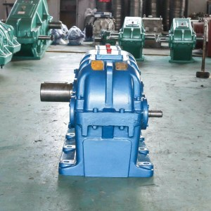 Cylindrical Gear Reducer Real Products Picture