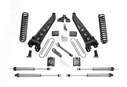 2005-2007 Ford F-250 Super Duty without Factory Overloads