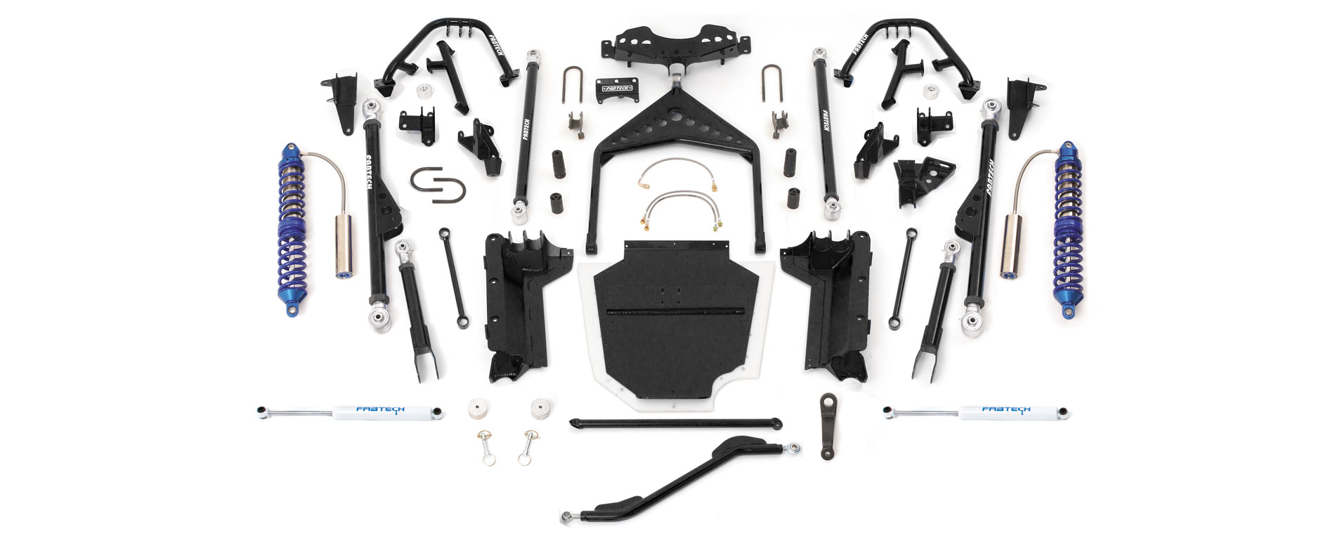 2004-2006 LJ Unlimited Fabtech Suspension Systems