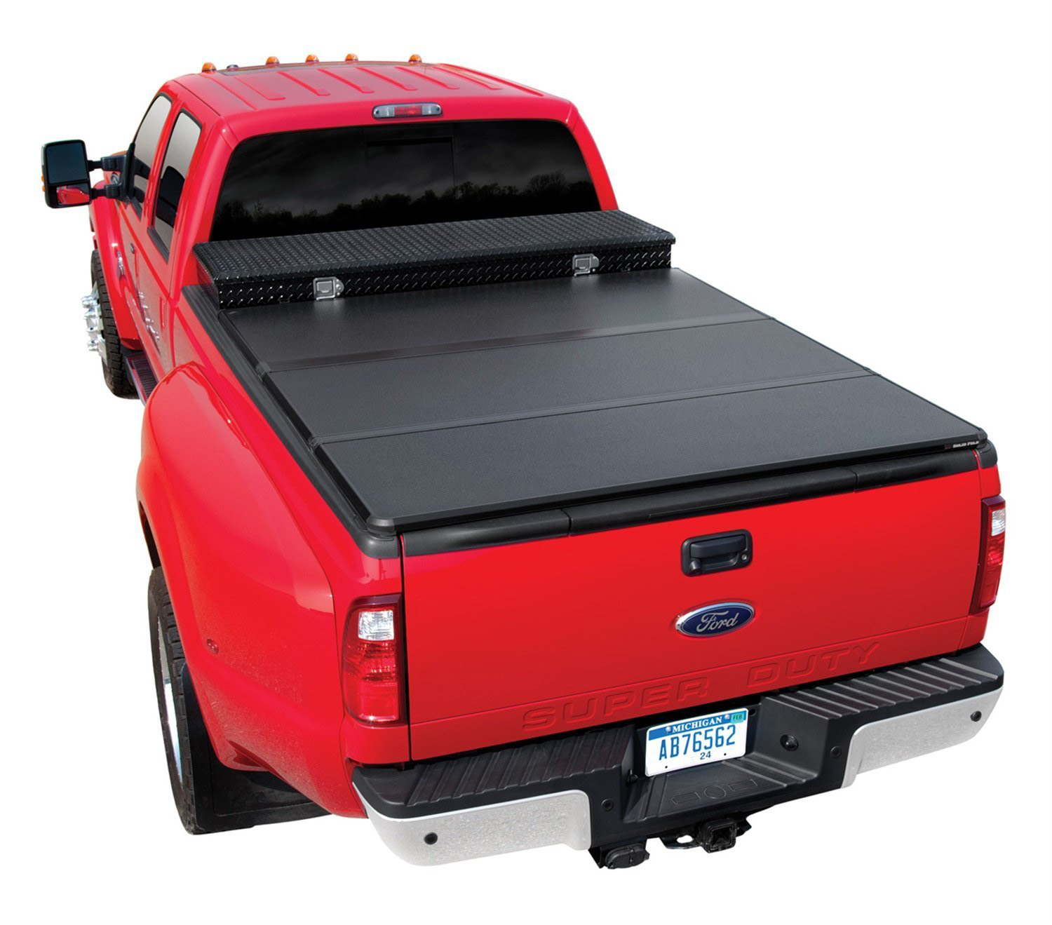 Solid Fold Toolbox Tonneau Covers Sd Truck Springs