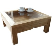 20 Best Collection of Oak Coffee Table With Glass Top