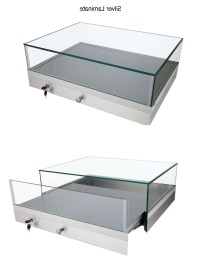 Photo Gallery of Glass Top Display Coffee Tables With