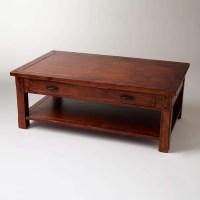 Best 20+ of Dark Wooden Coffee Tables