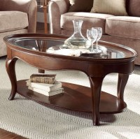 20 Best Oval Glass And Wood Coffee Tables