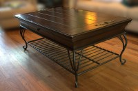 Best 20+ of Black Wood And Glass Coffee Tables